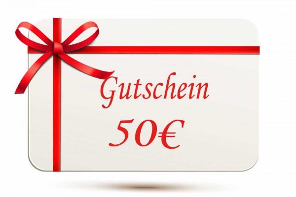 Gutschein 50EUR